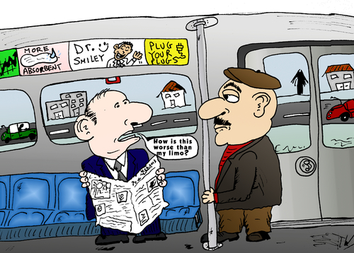 Cartoon: Limo Train Options Cartoon (medium) by BinaryOptions tagged binary,option,options,optionsclick,trade,trader,trading,train,limo,limousine,editorial,business,financial,news,investor,cariacture,comic,webcomic,cartoon,transport