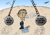 Cartoon: Economy wrecking balls and Obama (small) by BinaryOptions tagged president,obama,economic,wrecking,balls,liquid,assets,united,states,america,caricature,financial,editorial,business,comic,cartoon,optionsclick,binary,options,trader,option,trading,trade,news,lampoon