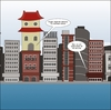 Cartoon: Japanime cartoons and buildings (small) by BinaryOptions tagged binary,option,options,trading,trade,building,towers,japan,anime,optionsclick,business,financial,editorial,cartoon,comic,webcomic,japanese