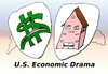 Cartoon: US Economic Data caricature (small) by BinaryOptions tagged binary,option,trader,options,trading,optionsclick,economic,caricature,cartoon,editorial,business,financial,housing,usd