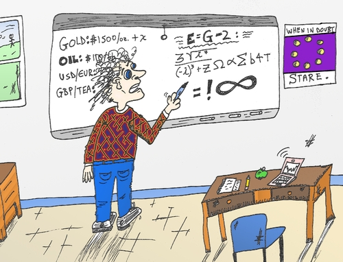 Cartoon: binary options math man (medium) by BinaryOptionsBinaires tagged equations,equation,formulae,formulas,formula,comic,editorial,cartoon,caricature,succss,tricks,tips,mathematician,mathematics,maths,math,trader,trading,options,option,binary,optionsclick