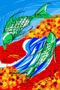 Cartoon: In autumn (small) by meyco tagged in,autumn,japan