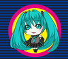 Cartoon: miku hathune (small) by meyco tagged japan,miku,hathune,idol