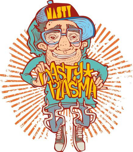 Cartoon: nastyplasma (medium) by netoplasma tagged vector,mexico,viejo,ilustration