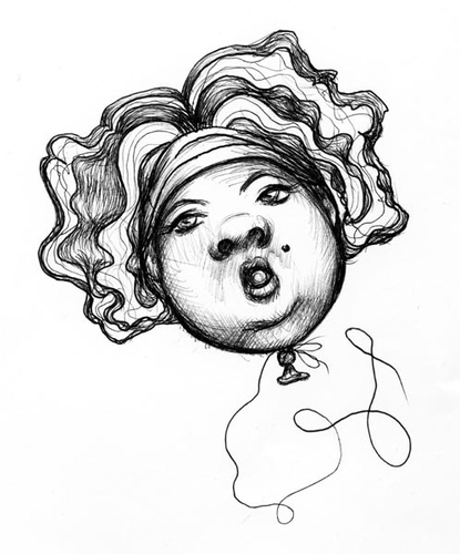 Scribble Drawing Crossword Clue : Balloon by vokoban media culture cartoon toonpool