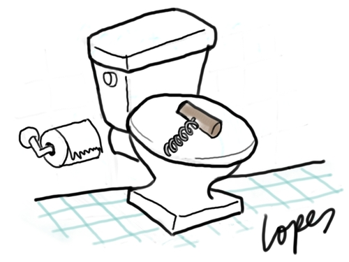 Constipation By Lopes Education Tech Cartoon Toonpool