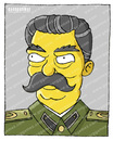 Cartoon: I.B. StaLin (small) by gamez tagged one,two