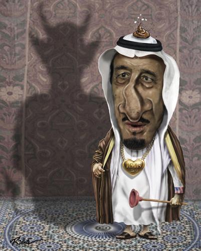 Image result for King Salman bin Abdulaziz CARTOON