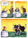 Cartoon: Beef steak please (small) by Ridha Ridha tagged beef,steak,please,cartoon,by,ridha
