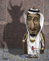Cartoon: King Salman bin Abdulaziz (small) by Ridha Ridha tagged king,salman,bin,abdulaziz,cartoon,by,ridha