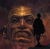 Cartoon: Gandhi - the walk (small) by ARTito tagged mahatma,gandhi,indien,india,asia,asien,mann,man,politik,politics,religion,protest,walk,freedom,liberty,freiheit,gewaltfreiheit,zeitgeist,portait,malerei,mixed,media,tito,artito,richard,galerie,freiraum,awesome,history,geschichte,opa,grandpa