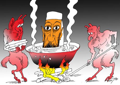 hell by tunins politics cartoon toonpool