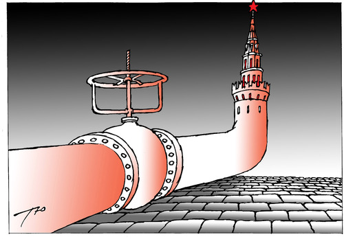 Cartoon: The Kremlin is a tube. (medium) by tunin-s tagged the,kremlin,as,tube