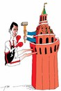 Cartoon: The Kremlin (small) by tunin-s tagged prokhorov