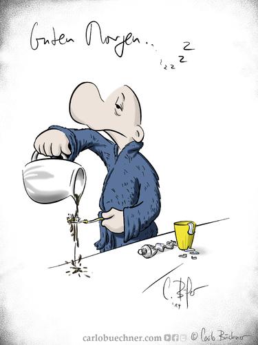 Guten Wochenstart By Carlo Büchner Media Culture Cartoon Toonpool