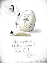 Cartoon: Das leise Ei Karl May (small) by Carlo Büchner tagged karl,may,2015,winnetou,old,shatterhand,indianer,lex,barker,pierre,brice,autor,ei,leise,schreiben,carlo,büchner,arts,ray,satire,cartoon,joke,parodie,wortspiel