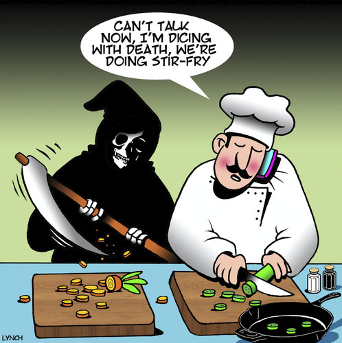 Dicing With Death By Toons Media Amp Culture Cartoon