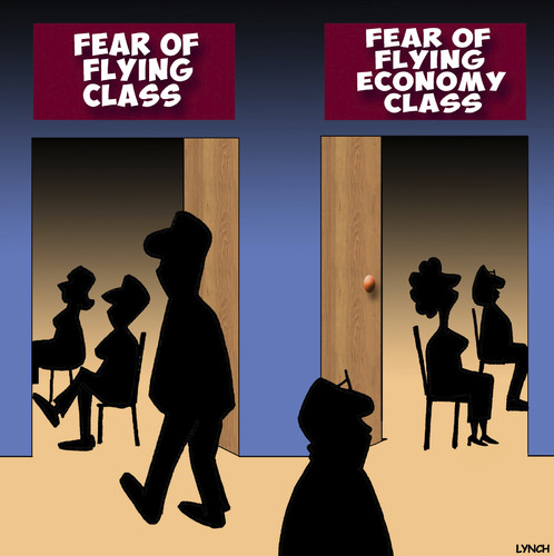 Cartoon: Fear of flying cartoon (medium) by toons tagged flying,economy,tourist,class,business,airline,travel,first,flying,economy,tourist,class,business,airline,travel,first