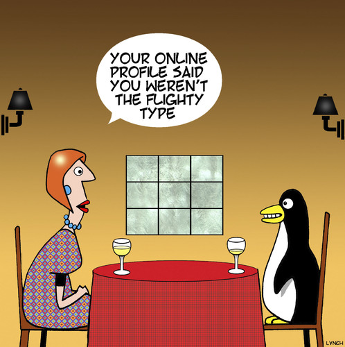 Cartoon: Flighty penguin (medium) by toons tagged penguins,penguins