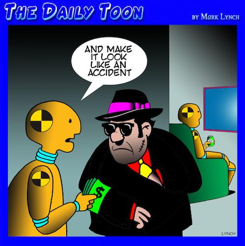 Hitman By Toons Media Culture Cartoon Toonpool