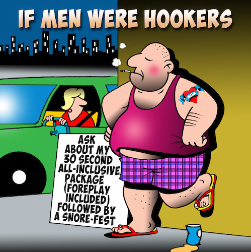 Hookers By toons | Love Cartoon | TOONPOOL