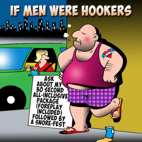 Hookers By toons | Love Cartoon | TOONPOOL