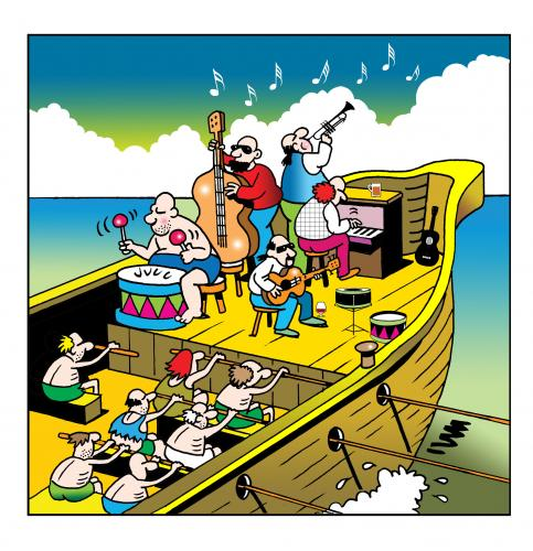 Image result for galley ship drummer