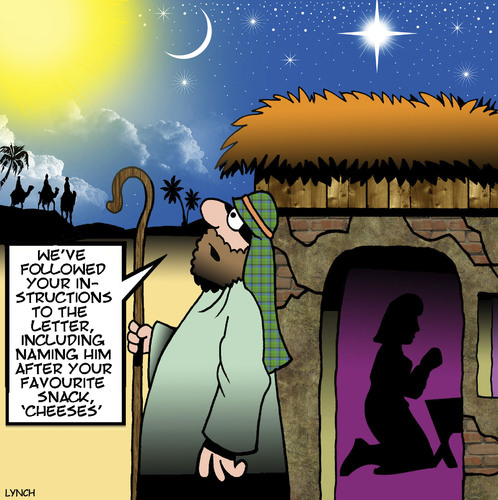 Cartoon: Lost in translation (medium) by toons tagged christmas,xmas,nativity,three,wise,men,cheese,snacks,food,bethleham,birth,of,jesus,joseph,and,mary,christmas,xmas,nativity,three,wise,men,cheese,snacks,food,bethleham,birth,of,jesus,joseph,and,mary