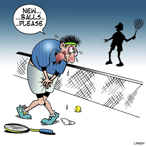 New Balls By Toons Sports Cartoon Toonpool