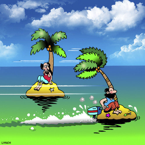 Cartoon Outboard Motors : Outboard escape by toons media culture cartoon toonpool