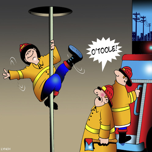 Cartoon: Pole dancer (medium) by toons tagged pole,dancing,fireman,fires,emergency,services,strippers,pole,dancing,fireman,fires,emergency,services,sex,strippers
