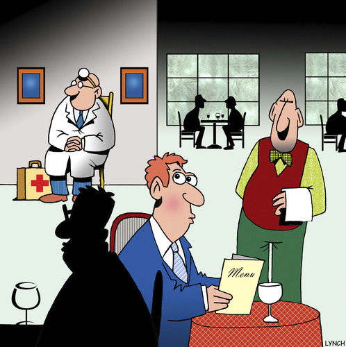 Restaurant Doctor By Toons Media Amp Culture Cartoon