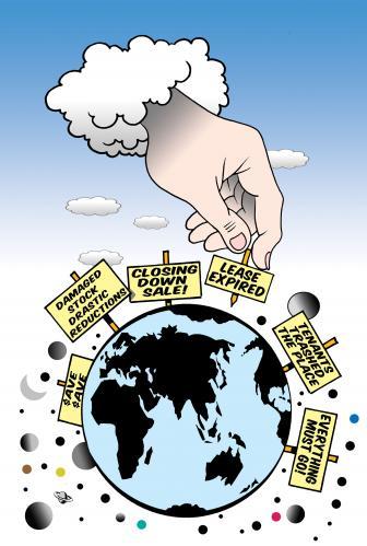 Cartoon sale medium by toons tagged earth god real estate global