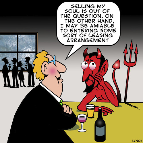 how to sell your soul to the devil