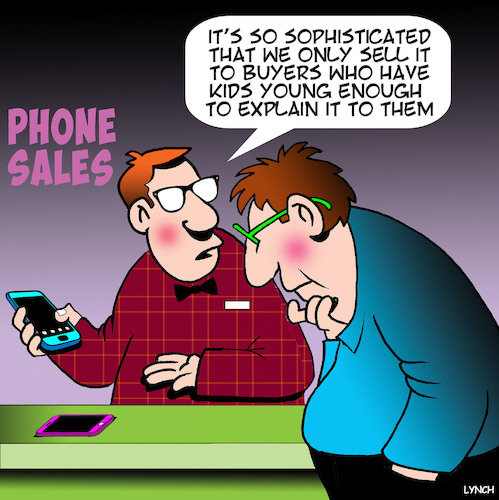 Cartoon: Smart phone (medium) by toons tagged iphones,smart,phones,kids,technology,telecommunications,sophistication,latest,phone,sales,iphones,smart,phones,kids,technology,telecommunications,sophistication,latest,phone,sales