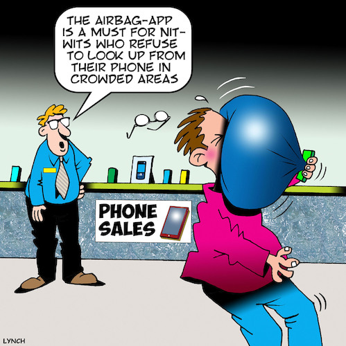 Cartoon: Texting (medium) by toons tagged staring,at,phone,texting,while,driving,nitwits,idiots,smart,phones,iphones,inconsiderate,staring,at,phone,texting,while,driving,nitwits,idiots,smart,phones,iphones,inconsiderate