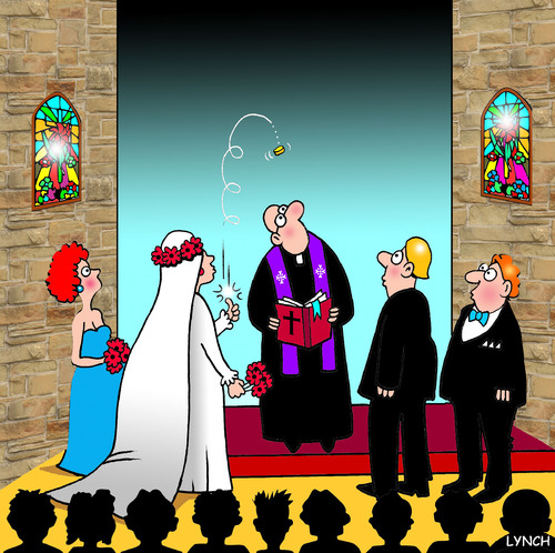 Wedding Tosser By Toons