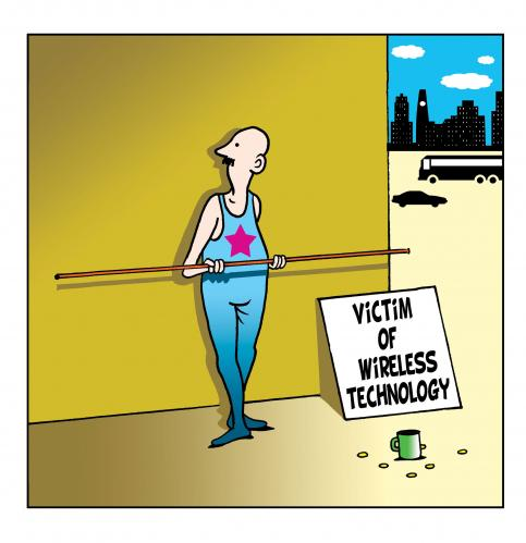 Wireless technology medium by toons tagged wireless technology