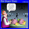 Cartoon: A la carte (small) by toons tagged pigs,swine,swill,la,carte,dining,restaurants,buffet,animals
