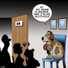 Cartoon: Alcoholic (small) by toons tagged aa,alcoholics,anonymous,st,bernard,dogs,rescue,dog,avalanche,addictions