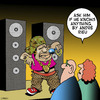 Cartoon: Andre Rieu (small) by toons tagged rap,rapper,andre,rieu,music,stereo,speakers,street,performer,waltz