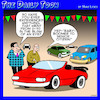 Cartoon: Baby Boomers (small) by toons tagged baby,boomer,pensioners,old,age,car,sales