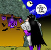 Cartoon: Batman (small) by toons tagged super,hero,bats,caves,vampires,batman,comic,book,family,children,love