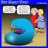 Cartoon: Bean bag (small) by toons tagged seventies,bean,bag,aging,joints