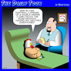 Cartoon: Chicken crosses the road (small) by toons tagged chickens,riddles,why,did,the,chicken