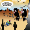 Cartoon: Cleanse diet (small) by toons tagged detox,cleanse,diets,vultures,birds,animals,desert