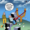 Cartoon: Cloud Storage (small) by toons tagged cloud,storage,computers,filing,cabinet,online