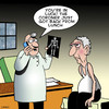 Cartoon: Coroner (small) by toons tagged coroner,rays,old,age