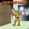 Crash text dummy