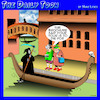 Cartoon: Death in Venice (small) by toons tagged angel,of,death,gondolas,venice,apocalypse,tourists,italy,tourism,travel,brochures